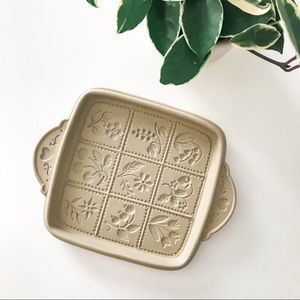 Other - Brown Bag Cookie Art Design Stoneware